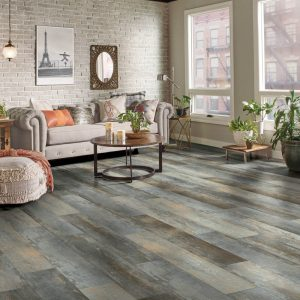 Luxury Vinyl Flooring of living room | Christian Brothers Flooring & Interiors.