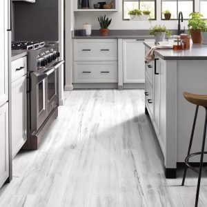 White Luxury Vinyl Tile | Christian Brothers Flooring & Interiors.