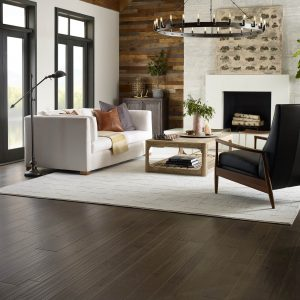 Living Room Hardwood flooring | Christian Brothers Flooring & Interiors.