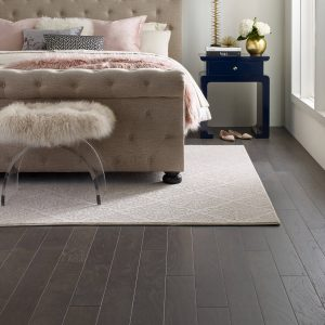 Northington Smooth Hardwood floor of Bedroom | Christian Brothers Flooring & Interiors.