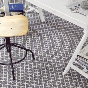 Carpet floor at Study Room | Christian Brothers Flooring & Interiors.