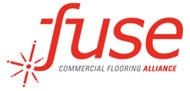 Logo of Fuse Commercial Flooring Alliance | Christian Brothers Flooring & Interiors.