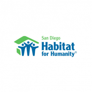 San Diego Habitat for Humanity logo | Christian Brothers Flooring & Interiors.