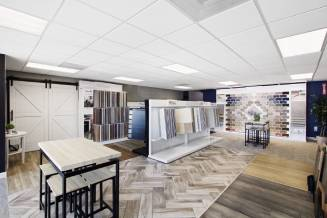 Showroom interior | Christian Brothers Flooring & Interiors.