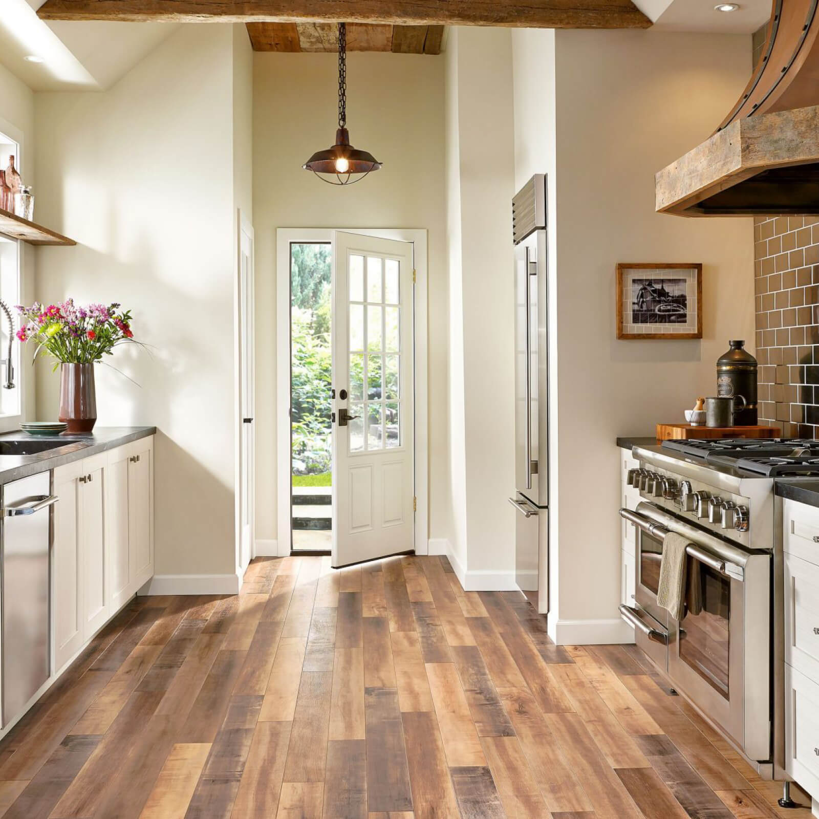 Should You Install Hardwood In Your Kitchen? | Christian Brothers Flooring & Interiors