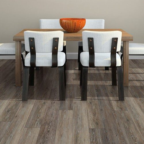 Dining room flooring | Christian Brothers Flooring & Interiors.