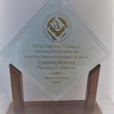 Project of the Year Award | Christian Brothers Flooring & Interiors.